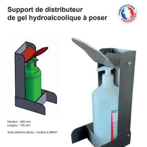 Présentation des distributeurs de gel hydroalcoolique A POSER